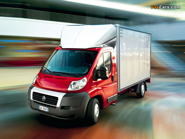 Fiat Ducato Pickup 2006 wallpapers (640 x 480)