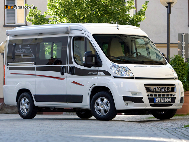 Hymer Car 302 Sportline 2010–12 pictures (640 x 480)