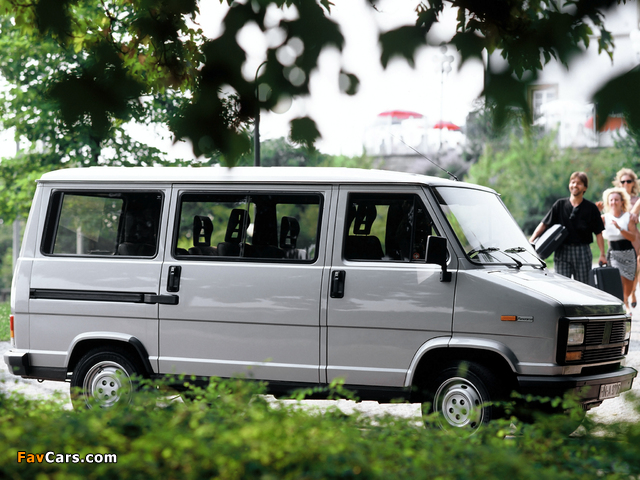 Images of Fiat Ducato Panorama 1981–89 (640 x 480)