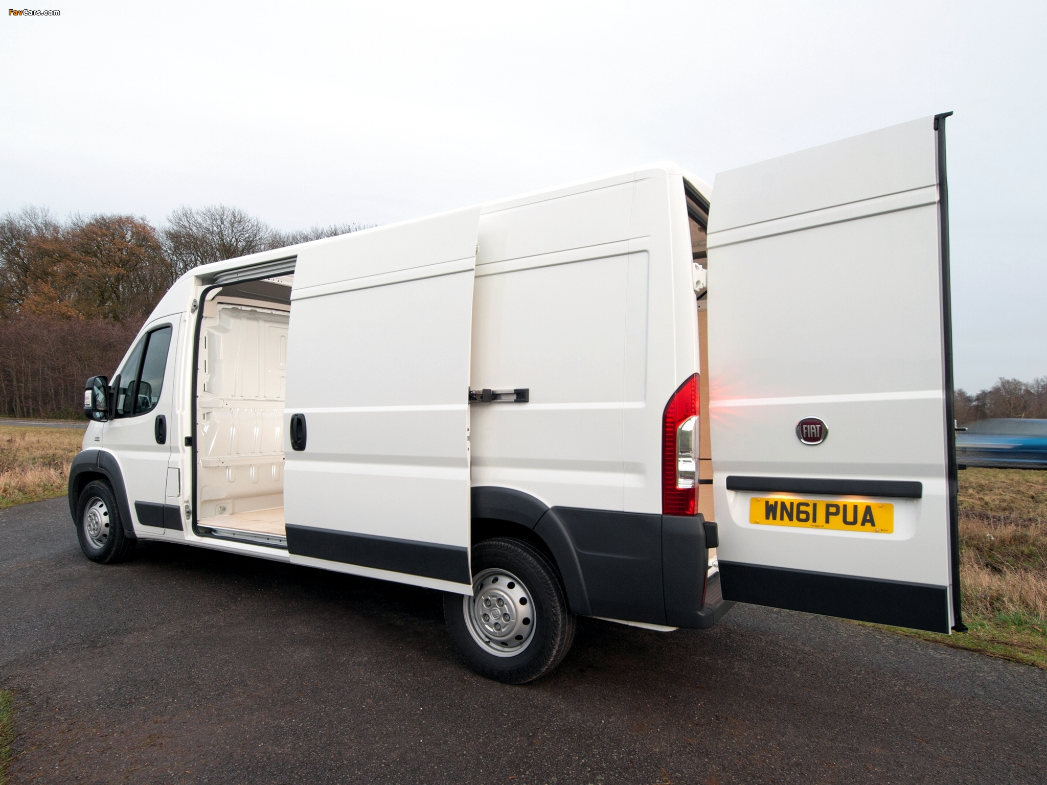 Images of Fiat Ducato Van UK-spec 2006 (2048 x 1536)
