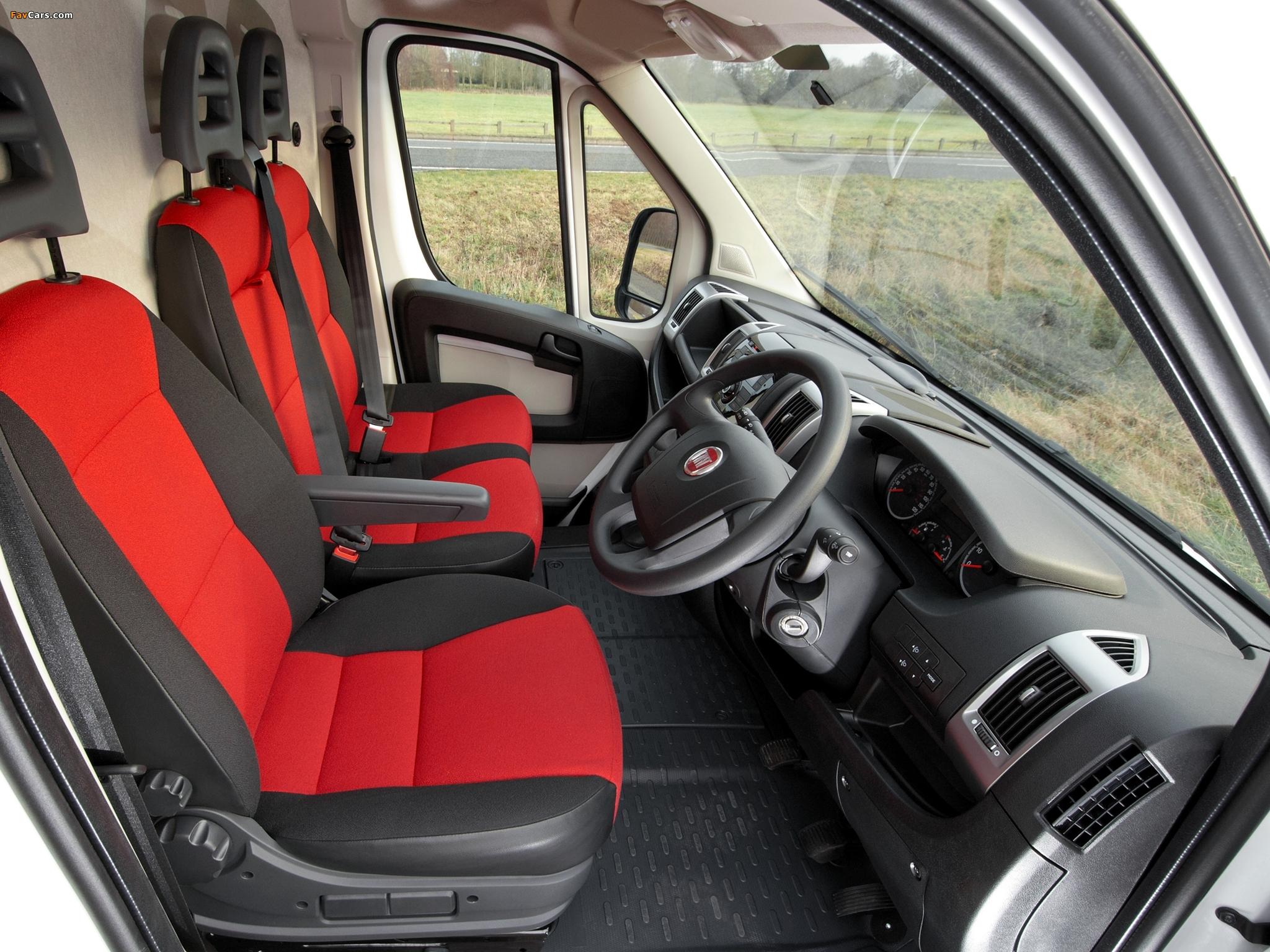Images of Fiat Ducato Van UK-spec 2006 (2048 x 1536)