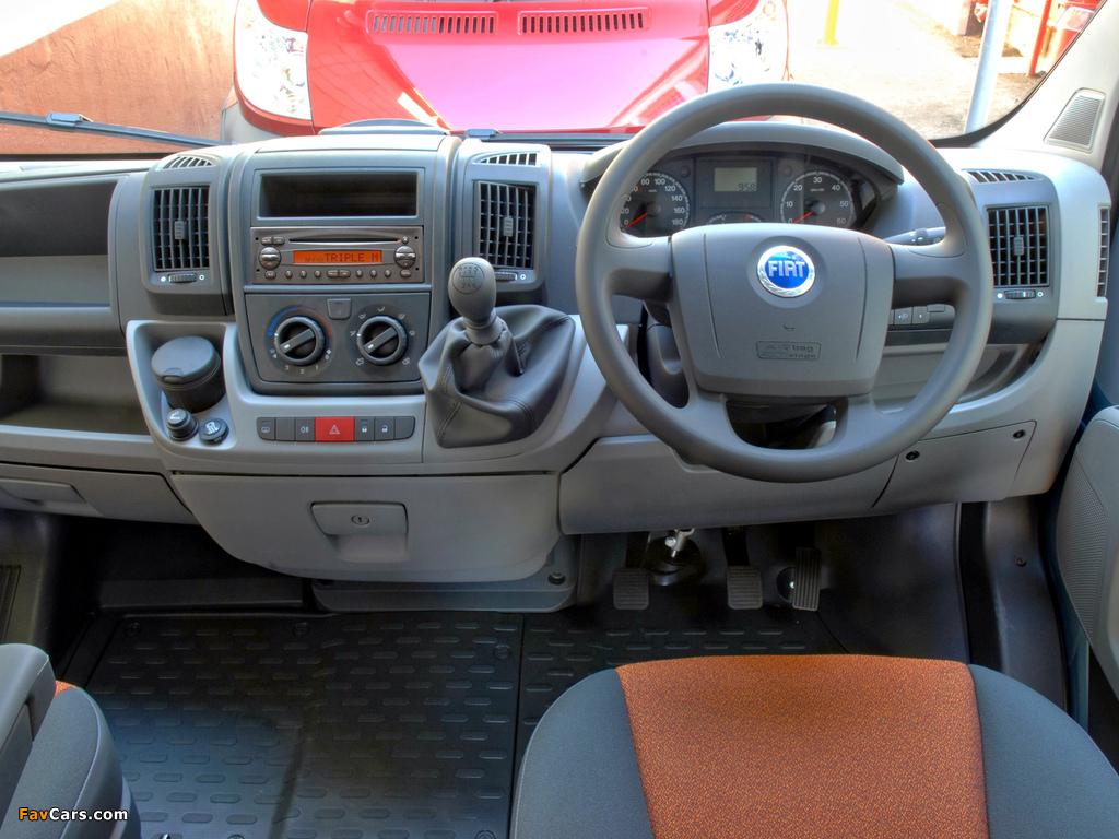 Images of Fiat Ducato Van SWB AU-spec 2006 (1024 x 768)
