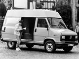 Pictures of Fiat Ducato High Roof Van 1981–89
