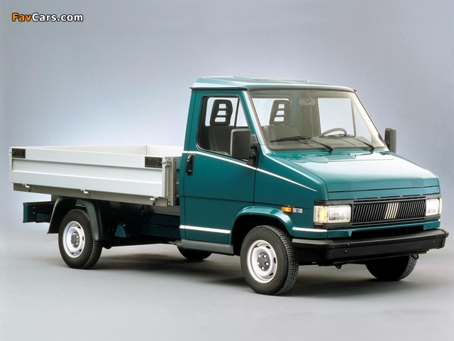 Pictures of Fiat Ducato Pickup 1989–94 (640 x 480)