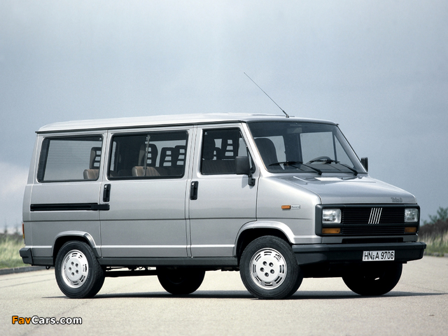 Fiat Ducato Panorama 1981–89 wallpapers (640 x 480)