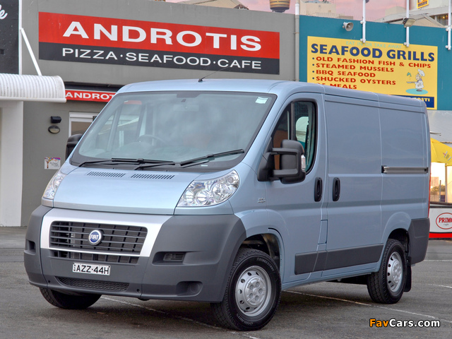 Fiat Ducato Van SWB AU-spec 2006 wallpapers (640 x 480)