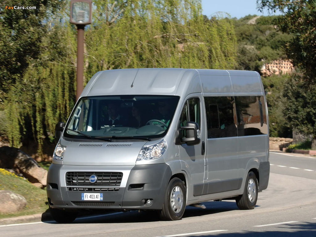 Fiat Ducato Panorama 2006 wallpapers (1024 x 768)