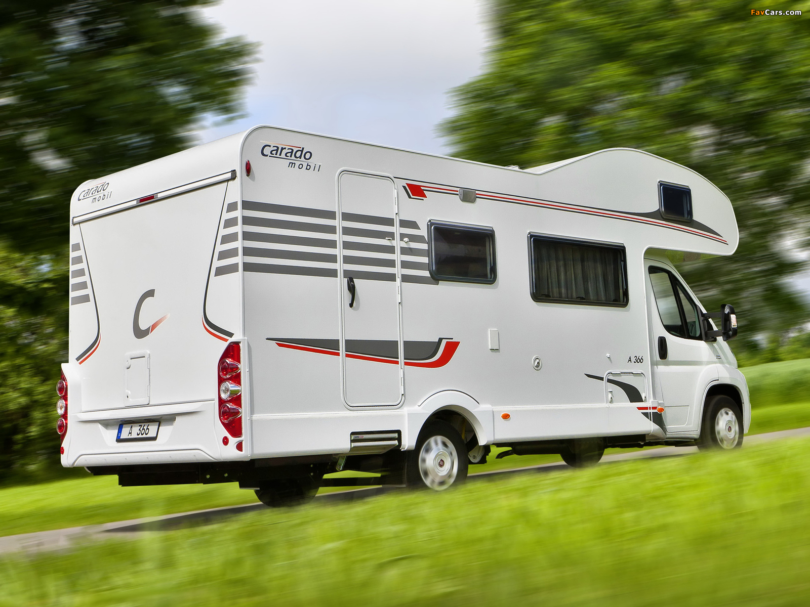 Carado A366 based on Fiat Ducato 2009 wallpapers (1600 x 1200)