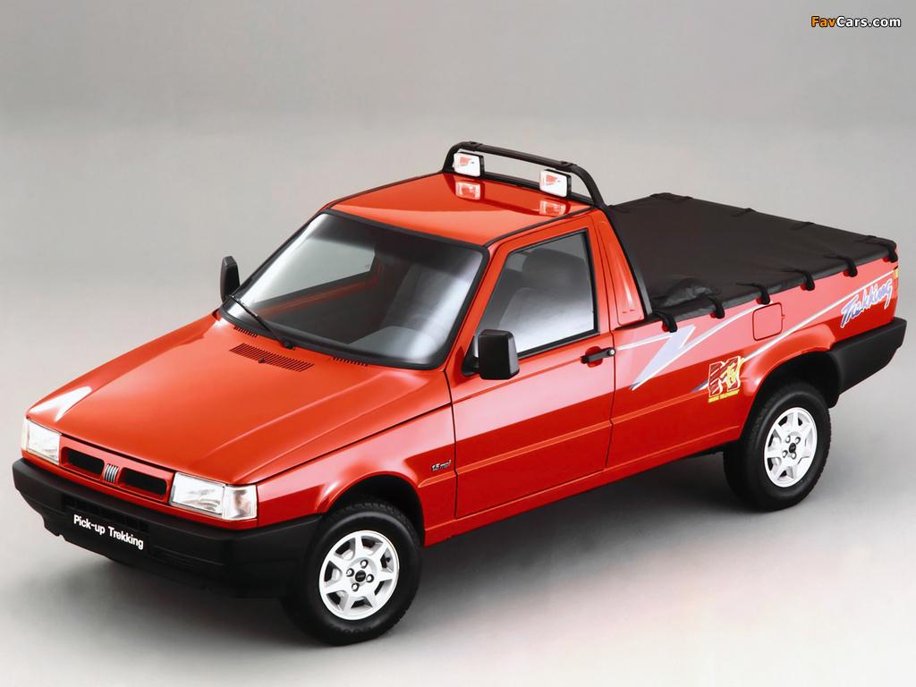 Fiat Fiorino Pick-up Trekking BR-spec (II) 1996–98 pictures (1024 x 768)