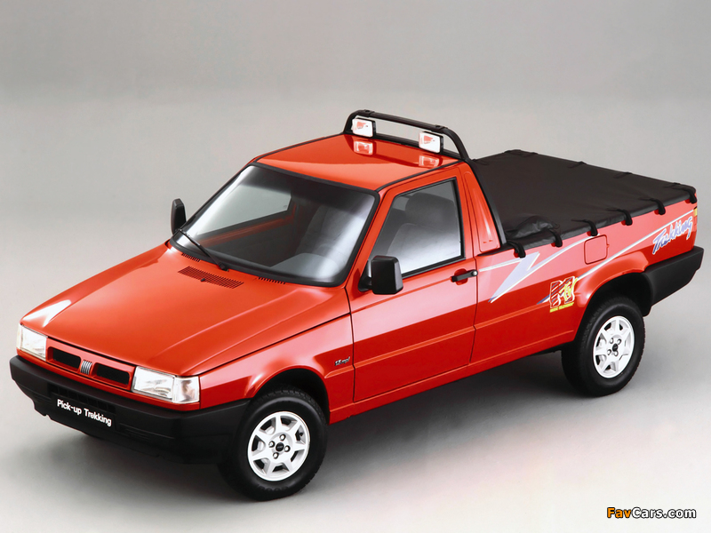 Fiat Fiorino Pick-up Trekking BR-spec (II) 1996–98 pictures (800 x 600)