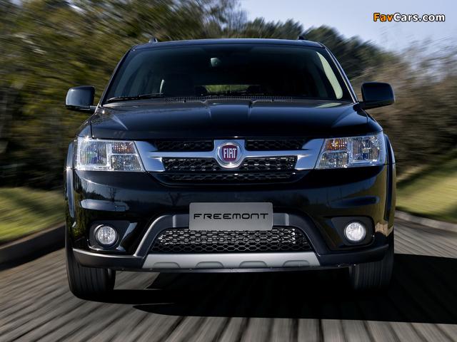 Fiat Freemont BR-spec (345) 2011 photos (640 x 480)