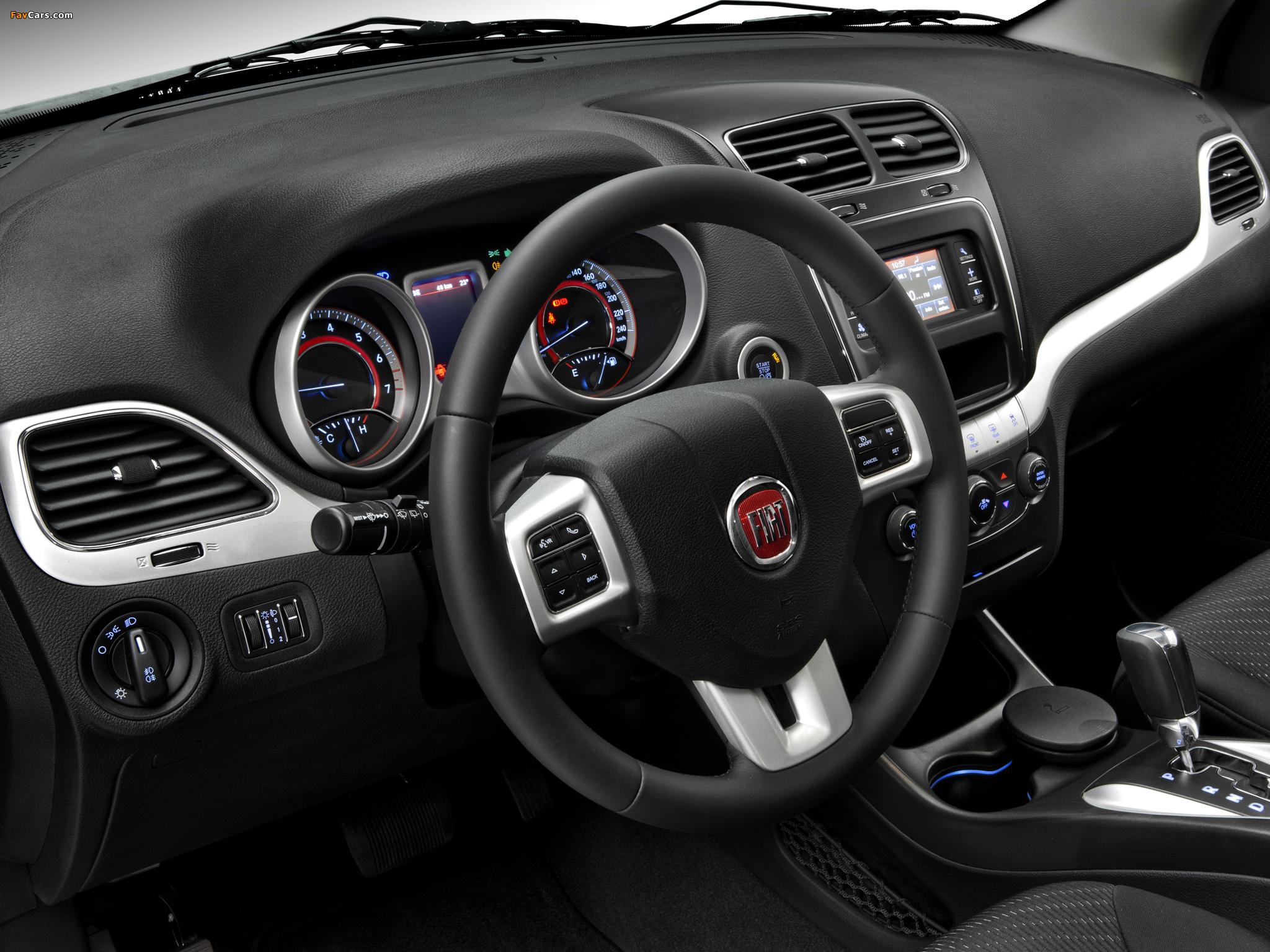 Images of Fiat Freemont BR-spec (345) 2011 (2048 x 1536)