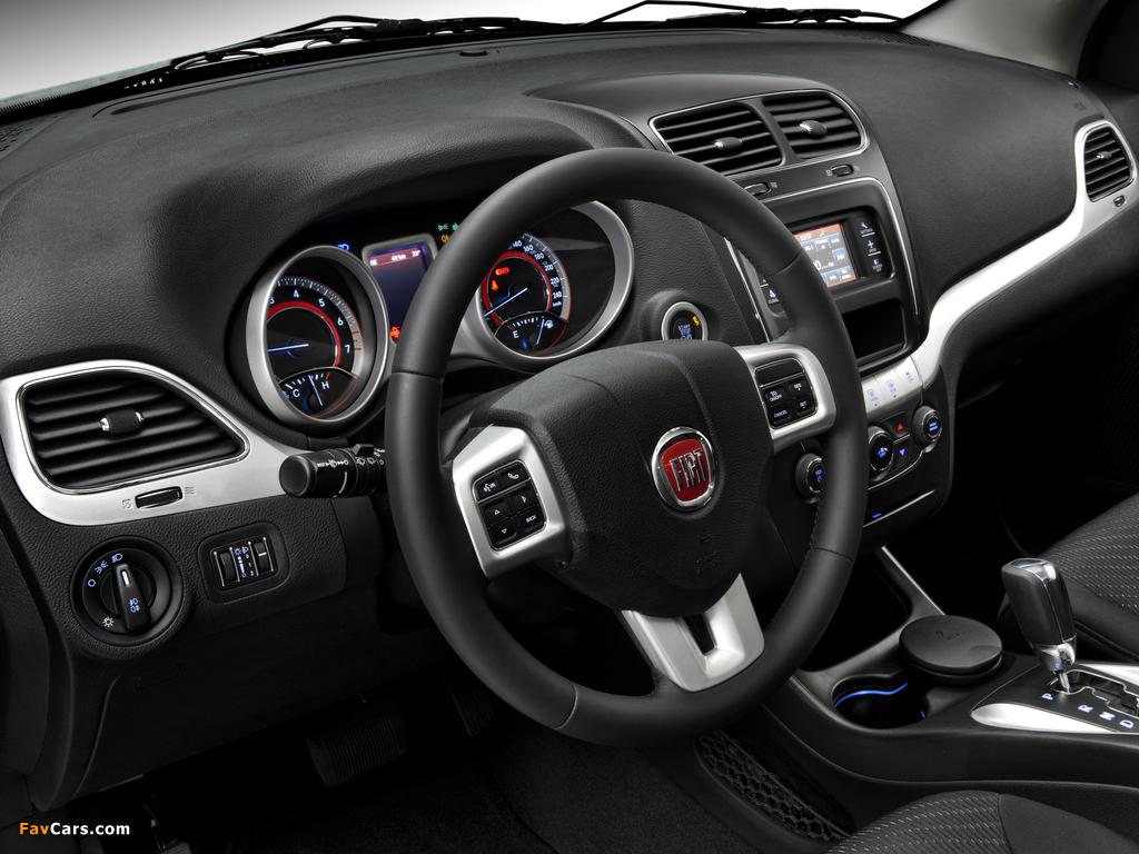 Images of Fiat Freemont BR-spec (345) 2011 (1024 x 768)