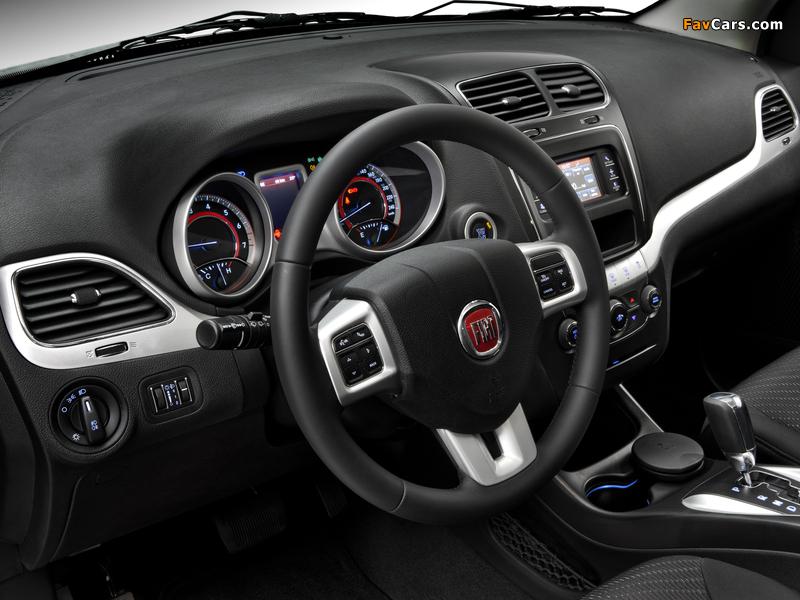 Images of Fiat Freemont BR-spec (345) 2011 (800 x 600)