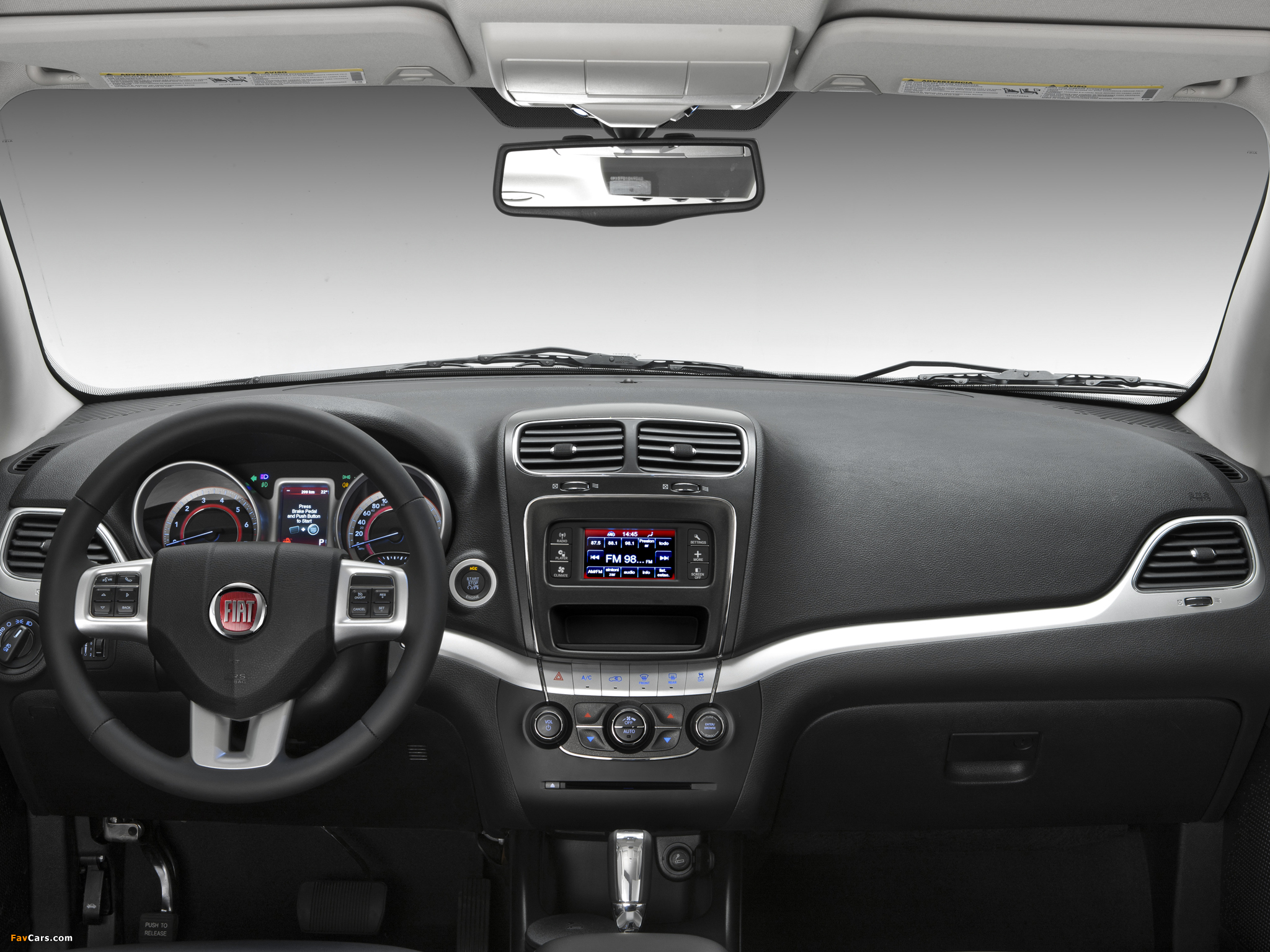 Photos of Fiat Freemont BR-spec (345) 2011 (2048 x 1536)