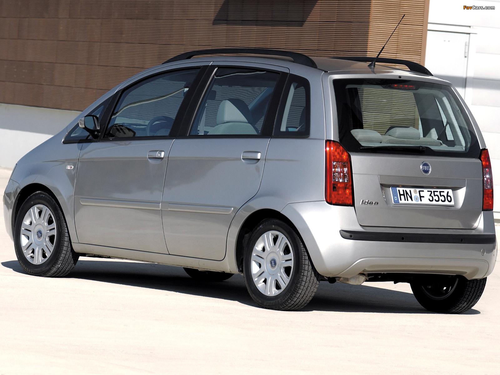 Fiat Idea (350) 2003–06 photos (1600 x 1200)