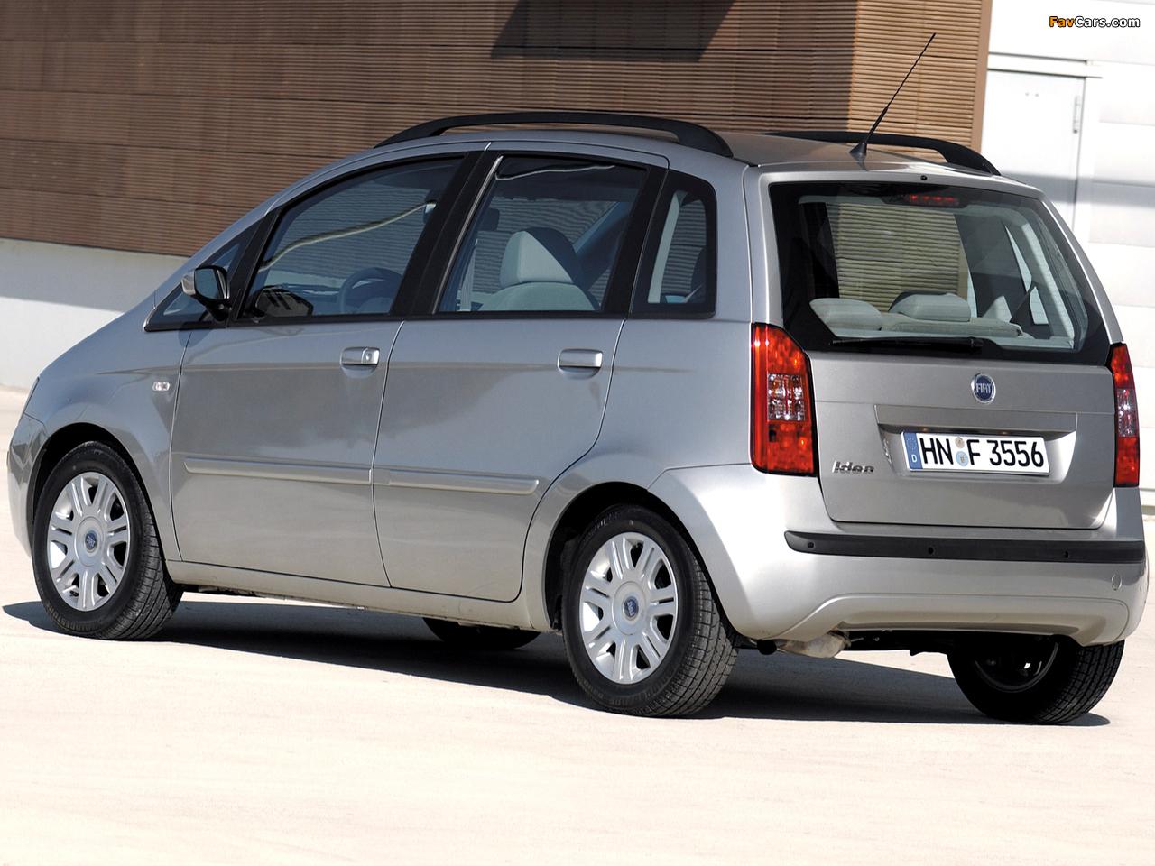Fiat Idea (350) 2003–06 photos (1280 x 960)