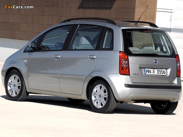 Fiat Idea (350) 2003–06 photos (640 x 480)