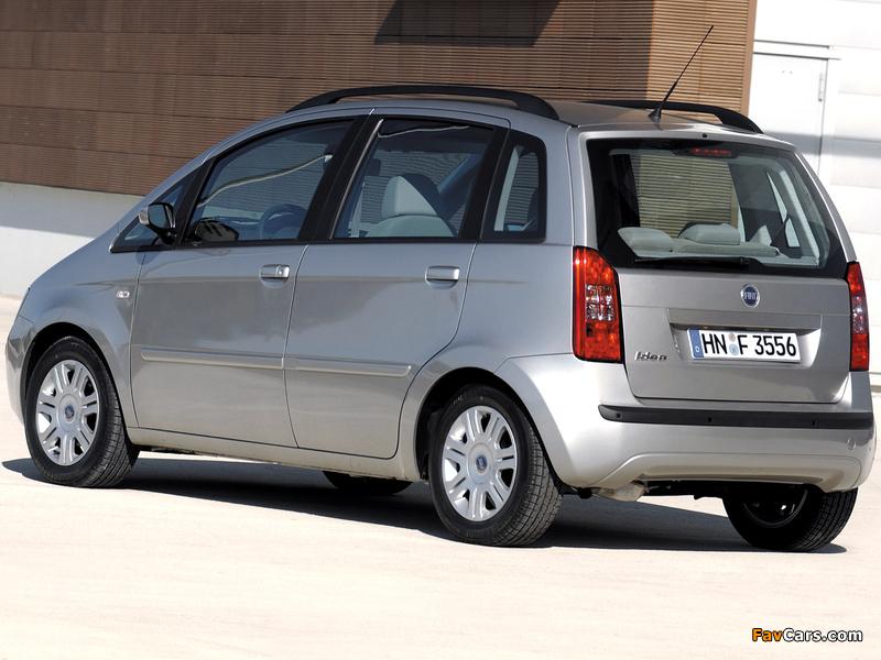 Fiat Idea (350) 2003–06 photos (800 x 600)