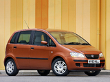 Fiat Idea UK-spec (350) 2004–06 wallpapers