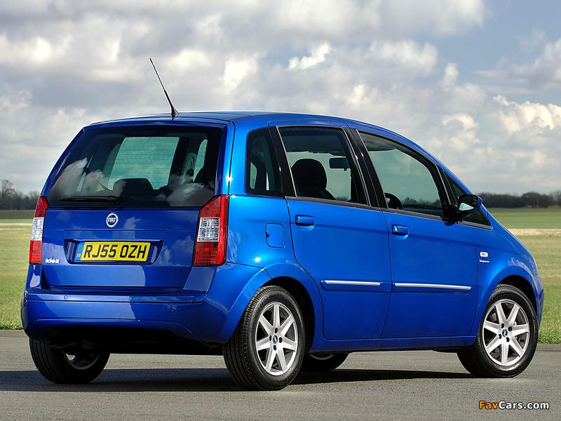 Images of Fiat Idea UK-spec (350) 2006–07 (800 x 600)