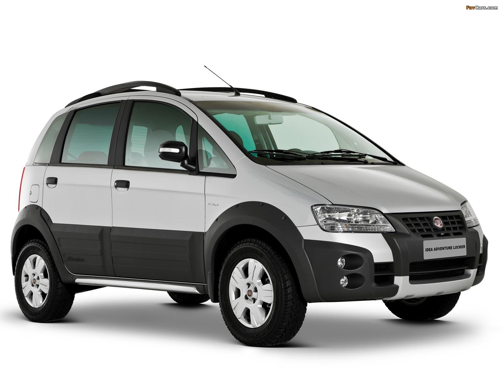 Images of Fiat Idea Adventure (350) 2006–10 (1600 x 1200)