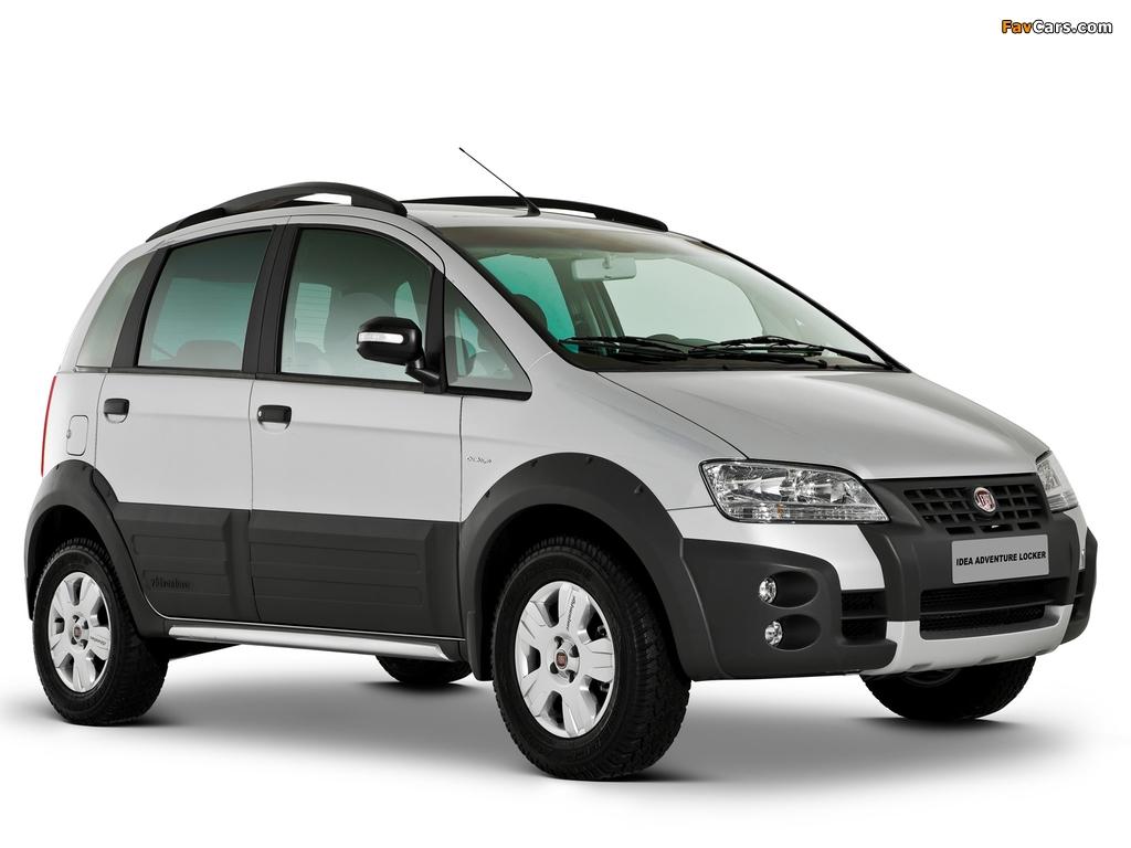 Images of Fiat Idea Adventure (350) 2006–10 (1024 x 768)