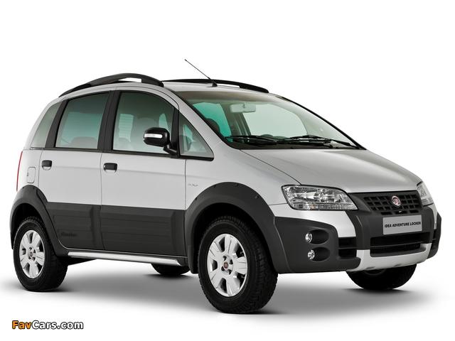 Images of Fiat Idea Adventure (350) 2006–10 (640 x 480)