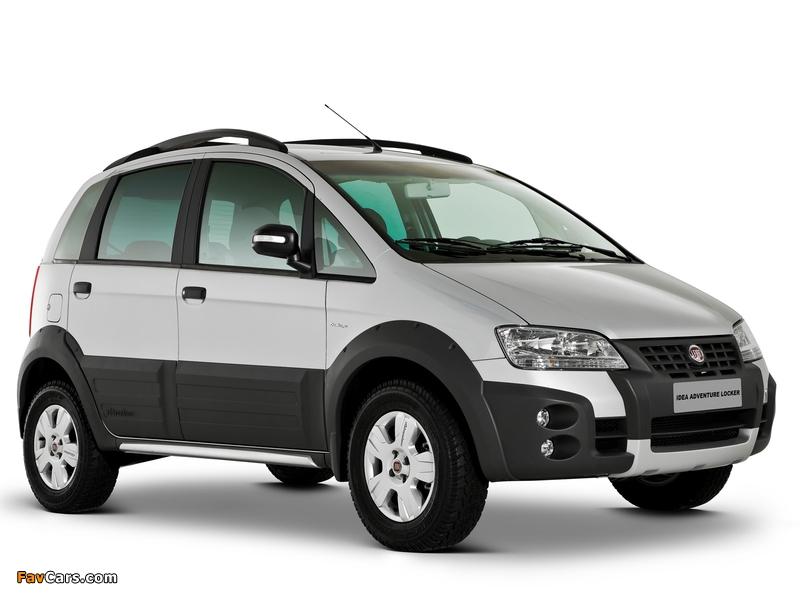 Images of Fiat Idea Adventure (350) 2006–10 (800 x 600)