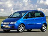 Photos of Fiat Idea UK-spec (350) 2006–07