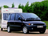 Fiat Multipla UK-spec 2000–02 photos
