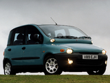 Fiat Multipla UK-spec 2000–02 pictures