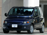 Fiat Multipla JP-spec 2002–04 photos