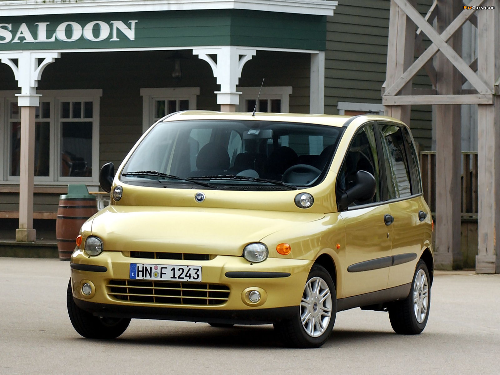 Fiat Multipla 2002 04 Wallpapers 1600x1200