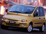 Fiat Multipla ZA-spec 2003–04 images