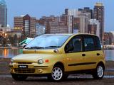 Fiat Multipla ZA-spec 2003–04 pictures