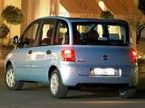 Fiat Multipla ZA-spec 2004–10 images