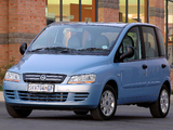 Fiat Multipla ZA-spec 2004–10 photos