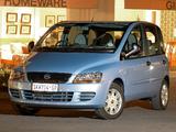 Fiat Multipla ZA-spec 2004–10 photos