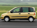 Images of Fiat Multipla UK-spec 2002–04