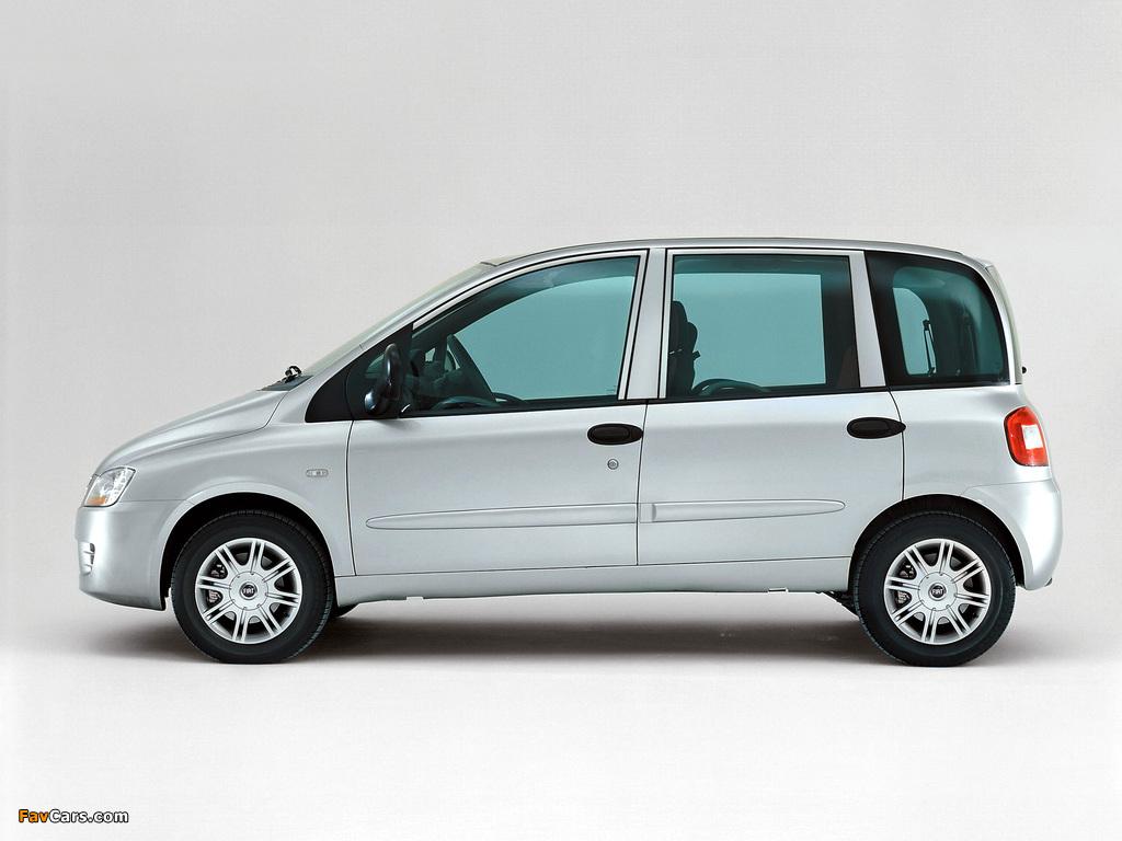 Images of Fiat Multipla 2004–10 (1024 x 768)