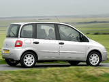 Pictures of Fiat Multipla UK-spec 2004–10