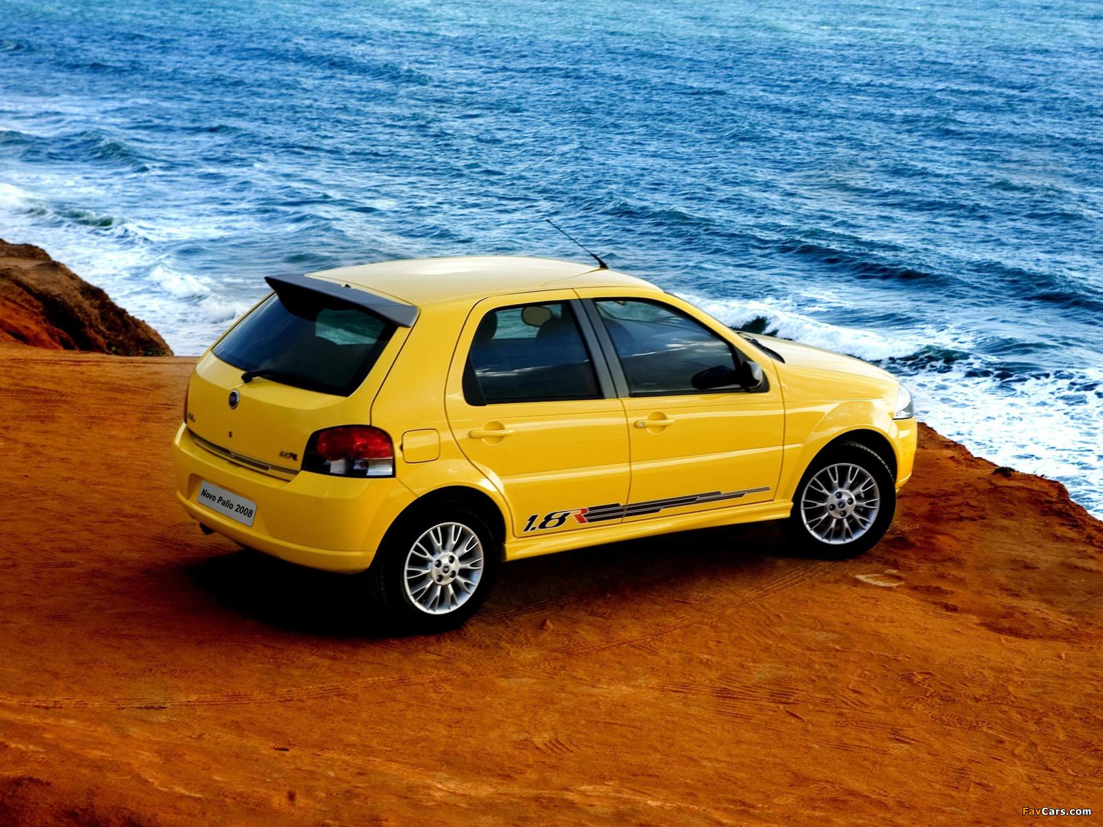 Fiat Palio 1.8R 5-door (178) 2007–09 images (1600 x 1200)