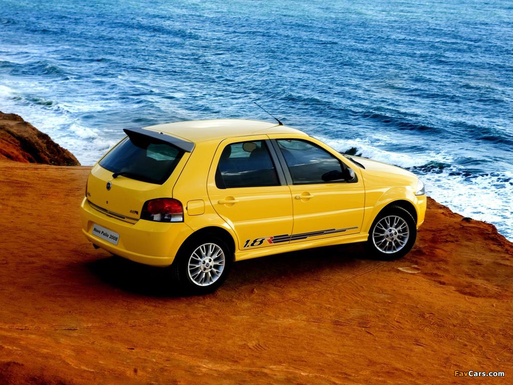 Fiat Palio 1.8R 5-door (178) 2007–09 images (1024 x 768)