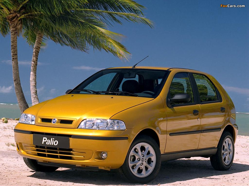 Fiat >> Images of Fiat Palio 5-door (178) 2001–04 (1024x768)
