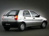 Photos of Fiat Palio 5-door (178) 1996–2001