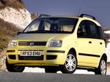 Fiat Panda UK-spec (169) 2004–09 images