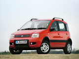 Fiat Panda 4x4 Climbing UK-spec (169) 2005–09 images