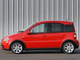 Fiat Panda 100 HP UK-spec (169) 2006–10 wallpapers