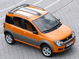Fiat Panda 4x4 Cross (169) 2006–12 wallpapers